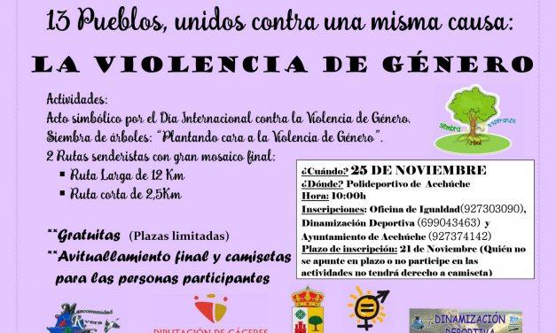 13 pueblos por una misma causa:la lucha contra la Violencia de Género