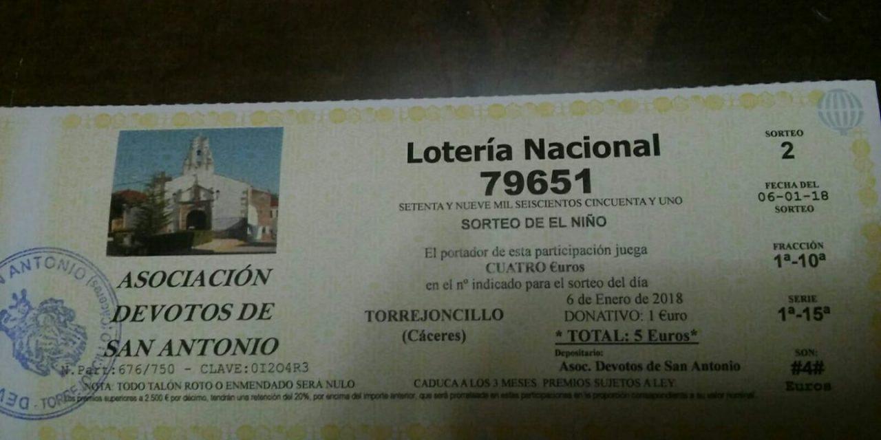 Cobro Lotería del Niño de Devotos de San Antonio