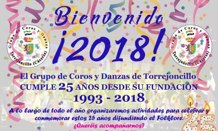 Coros y Danzas de Torrejoncillo cumple 25 años