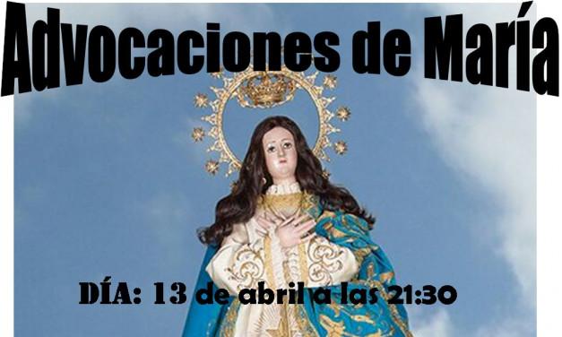 Advocaciones de María
