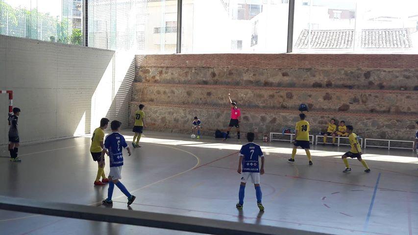 Play off de ascenso del equipo Infantil de Fútbol Sala