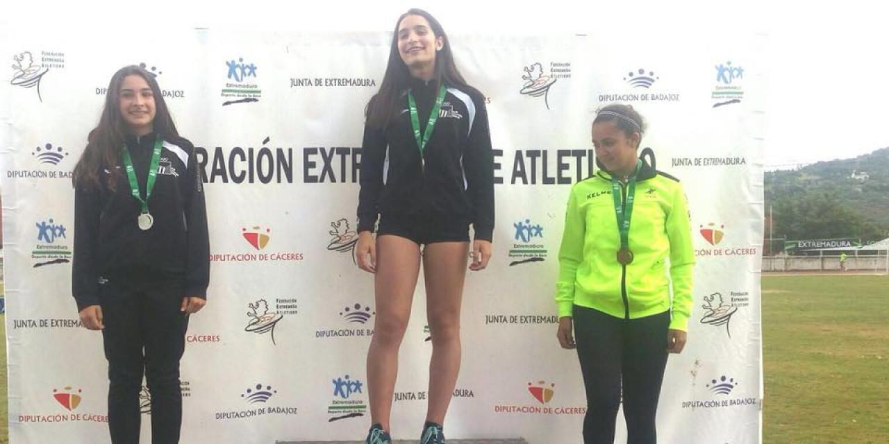 Campeonato de Extremadura Sub-16 y Sub-18 de pista de Cáceres