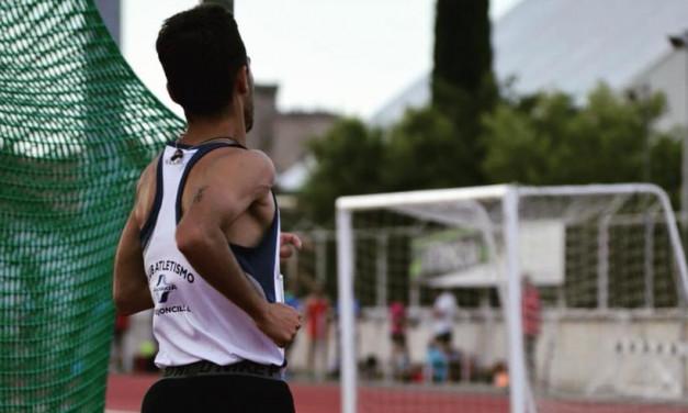 Mario Mirabel en el Campeonato de España de 3000 metros