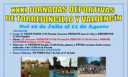 XXXI Jornadas Deportivas