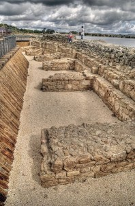 Vista de la presa romana de Proserpina - WIKIPEDIA
