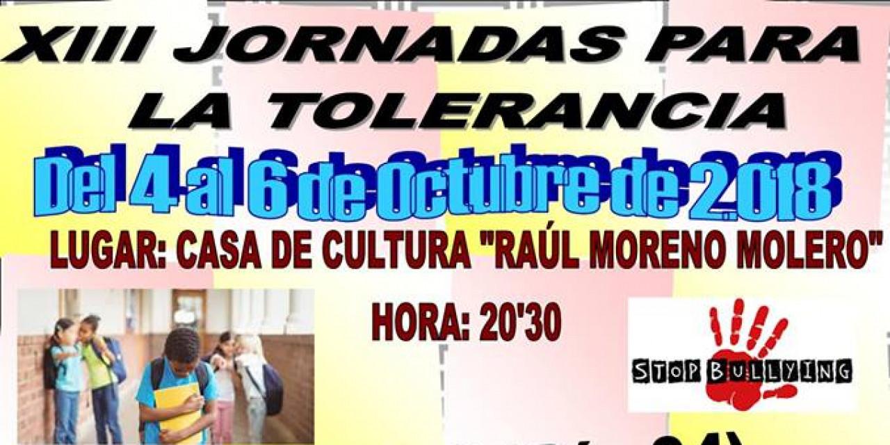 XIII Jornada para la Tolerancia