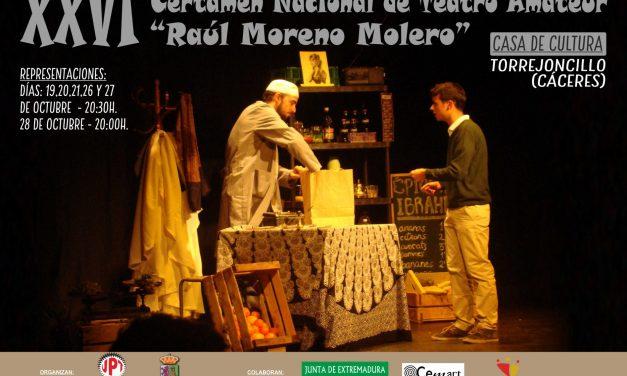 """Continúa el XXVI Certamen de Teatro """"Raúl Moreno Molero"""" de Torrejoncillo"""