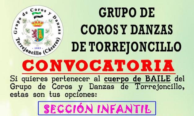 ¿Quieres pertenecer al Grupo de Coros y Danzas de Torrejoncillo?