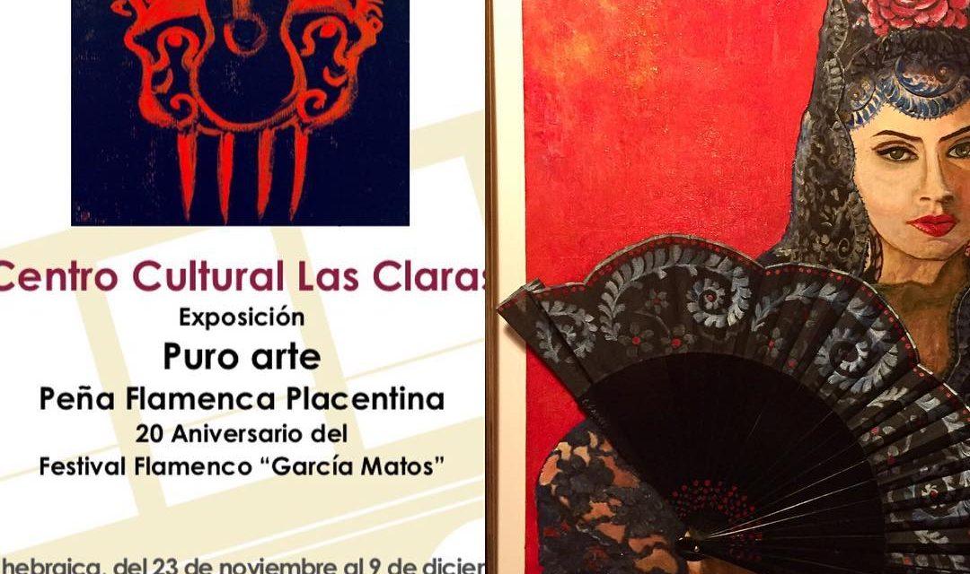 Carmina Santos en la Exposición Arte Puro de Plasencia