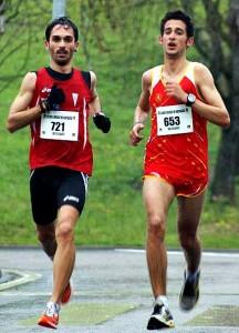 Mario Mirabel (izquierda) en Elvas, Portugal - CEDIDA