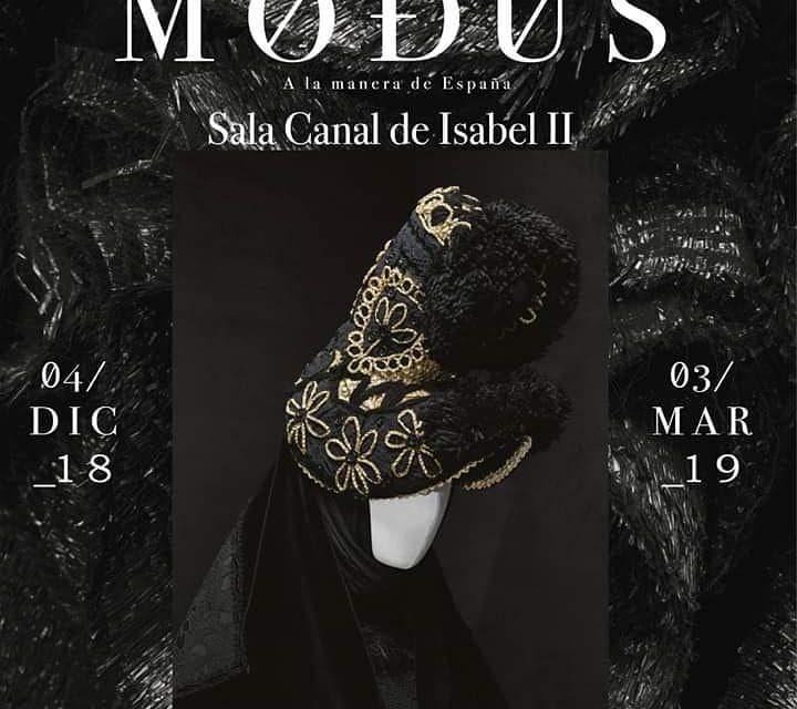 """Nuestro Pañuelo del Gajo en la exposición """"Modus. A la manera de España"""""""