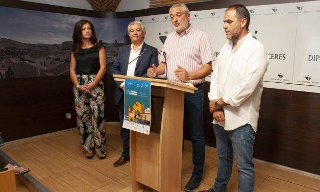 La conexión Navalmoral-Monfortiño y la lucha contra el despoblamiento, en la XXIII Feria Rayana