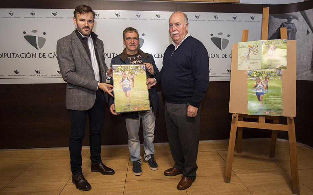 El Complejo Deportivo Provincial El Cuartillo preparado para recibir a los 1.300 atletas que disputarán el Trofeo Diputación de Cáceres de Campo a través, Cross Corto y Cross Velocidad