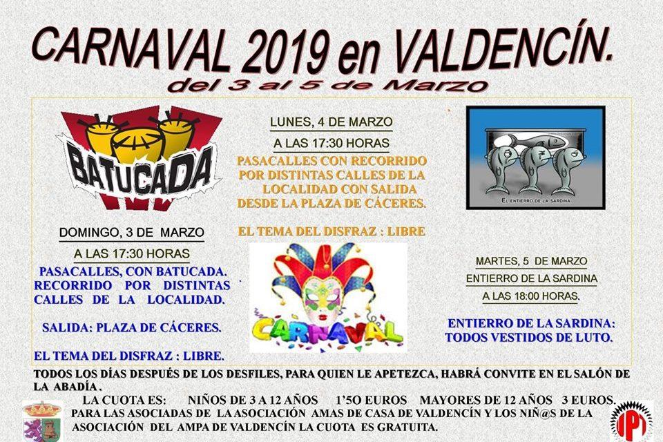 Carnaval 2019 de Valdencin