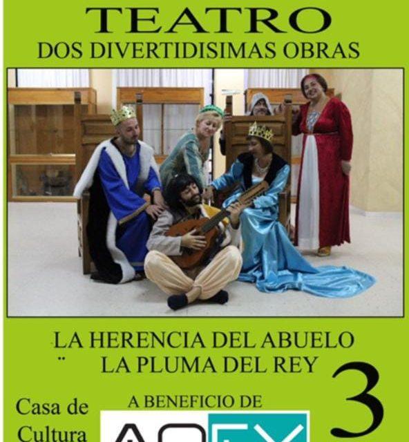 Teatro solidario a favor de la Asociación Oncológica de Extremadura