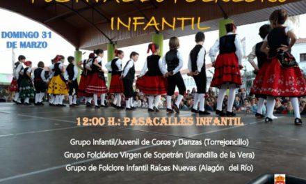 Coros y Danzas infantil y juvenil en la Primavera en la Dehesa