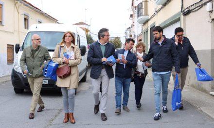 Carlos Floriano visita Torrejoncillo