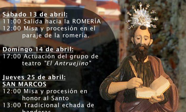 Pescueza celebra las fiestas de San Marcos 2019