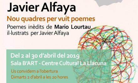 Nueve cuadros para ocho poemas de Mario Lourtau