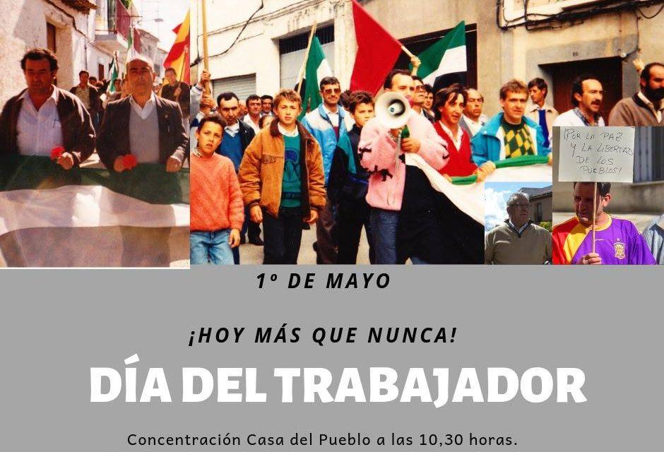 Celebración del 1º de Mayo: ¡Hoy más que nunca!