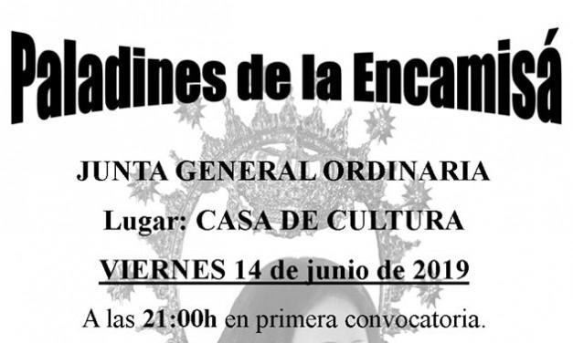 Junta General ordinaria de Paladines de la Encamisá