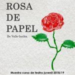 La rosa de papel