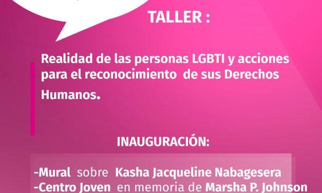 Actividades con motivo de la Semana del Orgullo LGBTI
