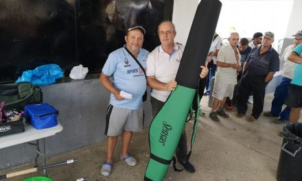 Mauricio Pérez ganador del último concurso de pesca