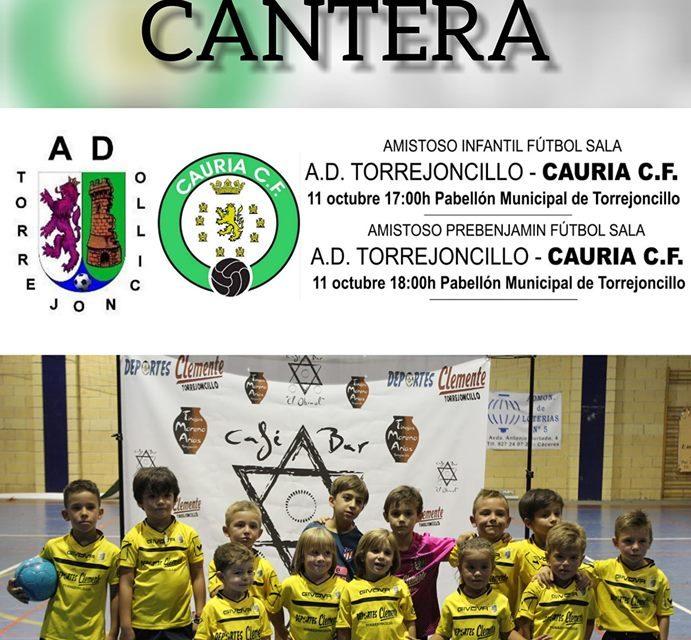 Presentación Cantera AD Torrejoncillo