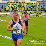 José Francisco Moreno imagen del XXXVI Trofeo Diputación de Cáceres de Campo a Través