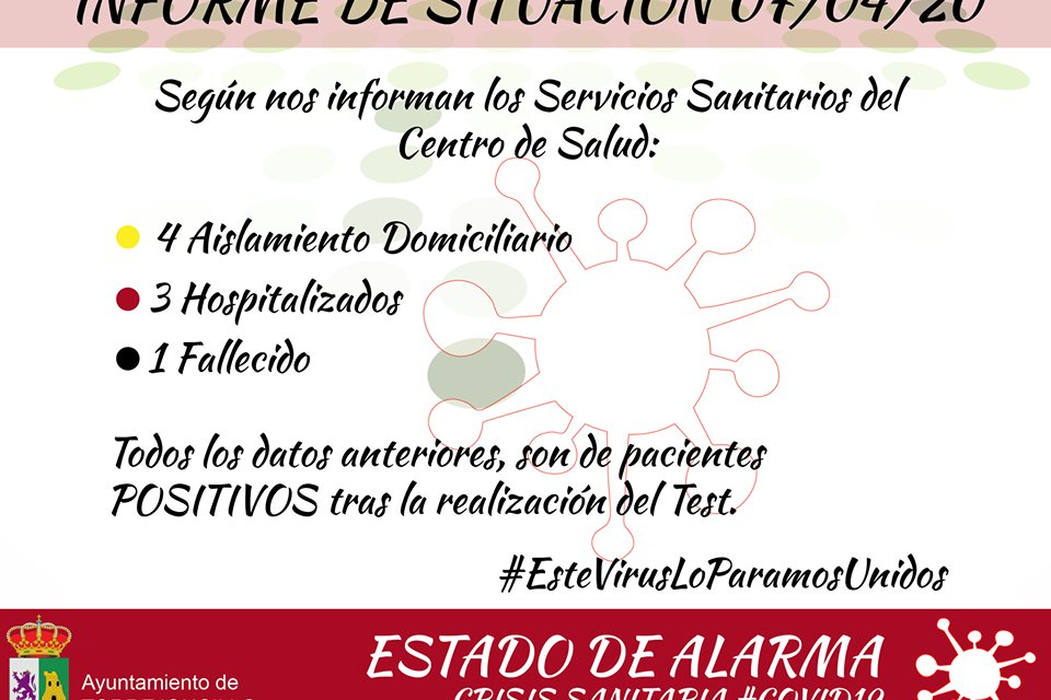Octavo caso de Coronavirus en Torrejoncillo