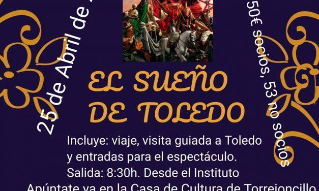 Nos vamos a Toledo el 25 de abril