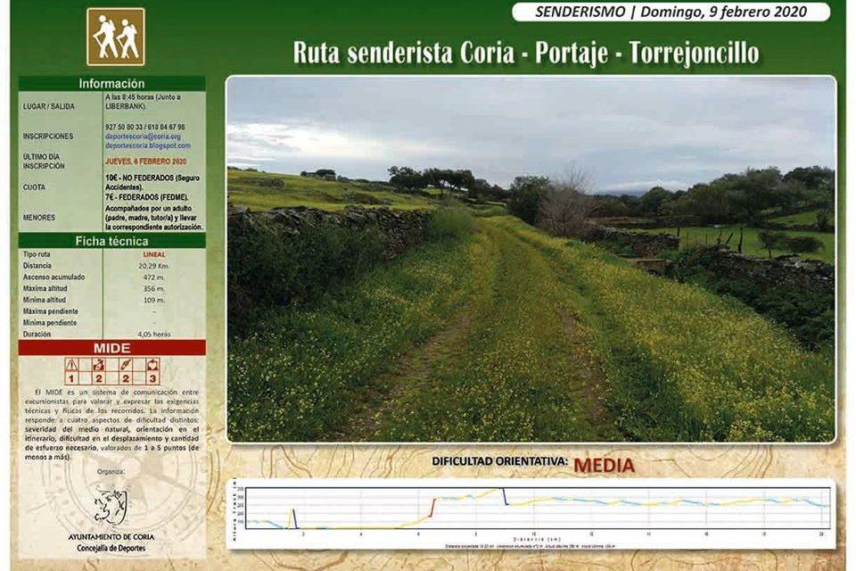 Coria-Portaje-Torrejoncillo