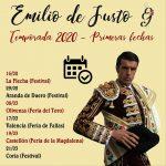 Emilio de Justo: suma y sigue