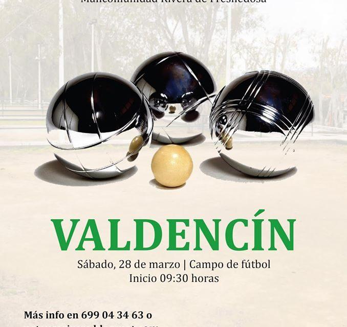 Valdencín recibe el torneo anual de petanca de la Mancomunidad
