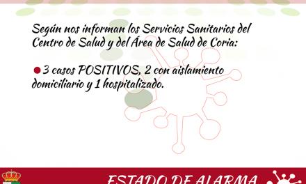 Tercer contagio por coronavirus en Torrejoncillo