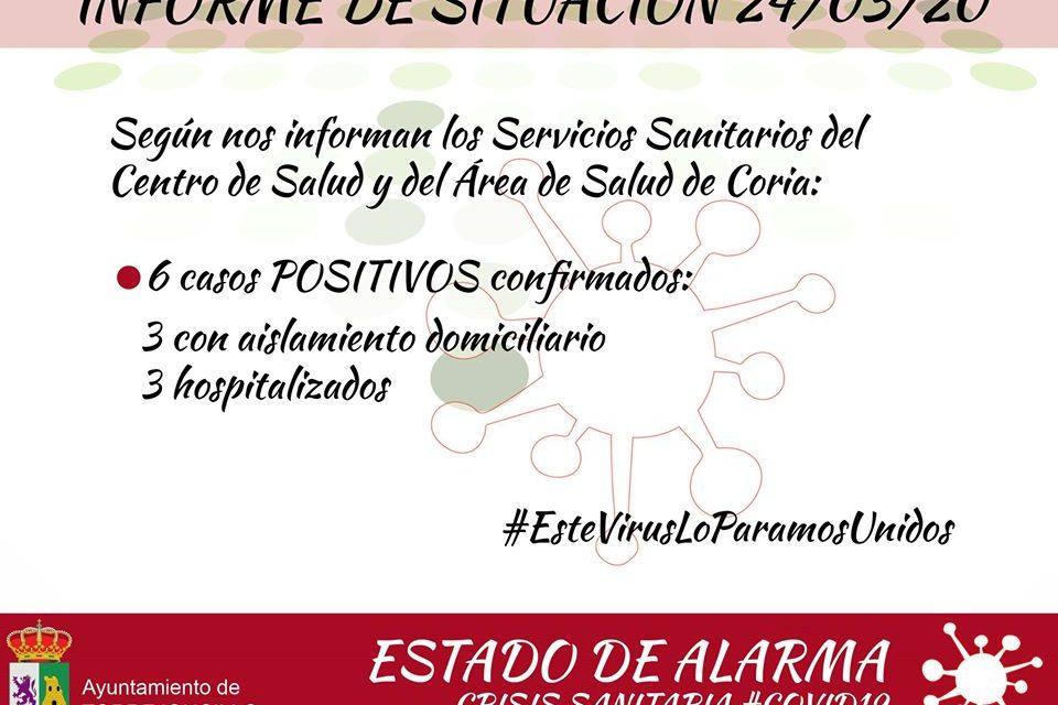 6 casos confirmados de Coronavirus en Torrejoncillo