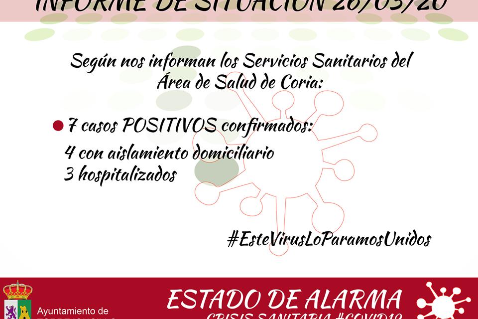 Séptimo caso de Coronavirus en Torrejoncillo