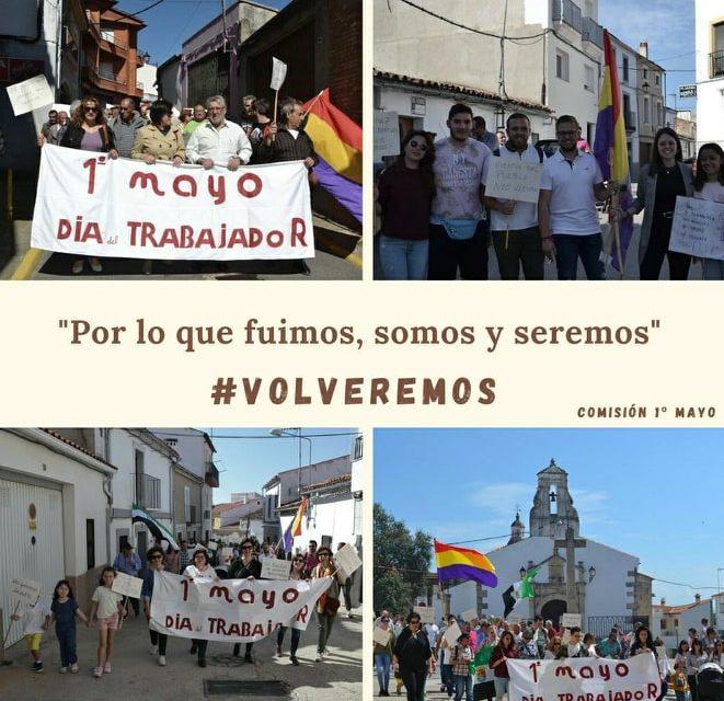 1º de Mayo: #VOLVEREMOS