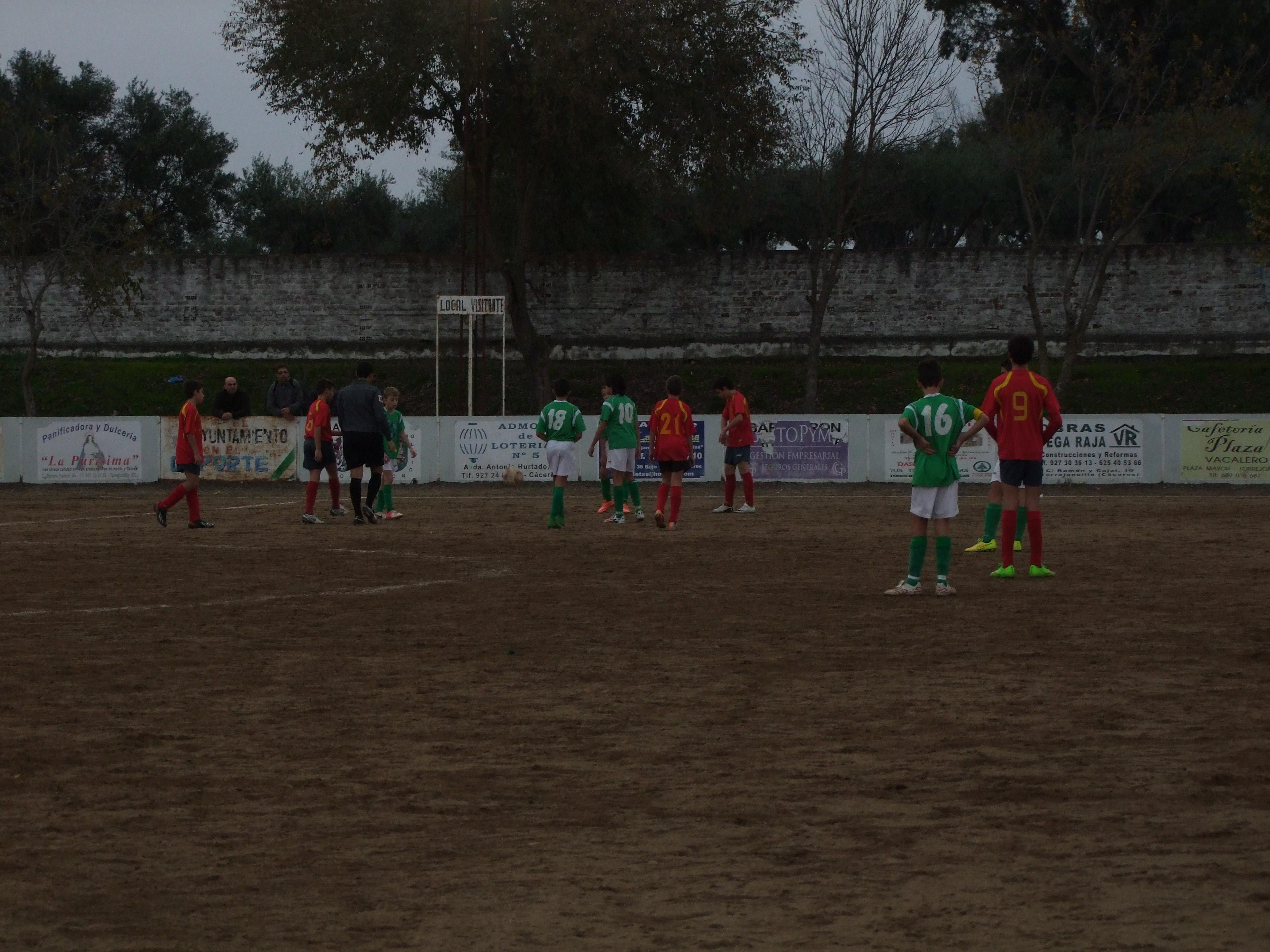 Vuelven las competiciones futboleras del AD Torrejoncillo
