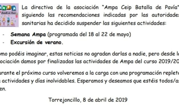 AMPA Informa
