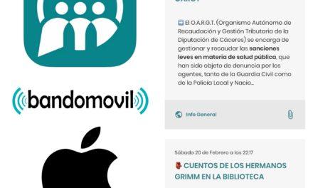 NUEVA APLICACIÓN DE BANDOMOVIL PARA IPHONE