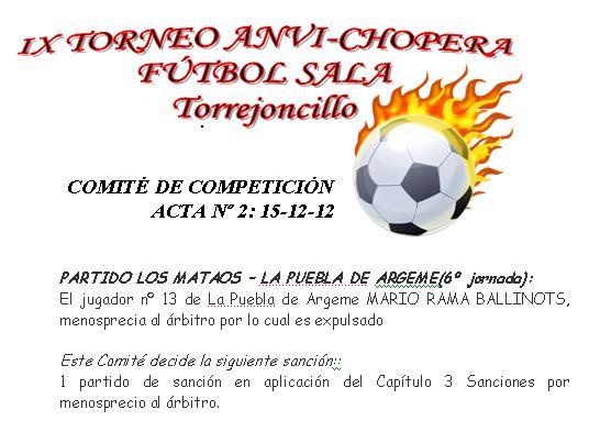 Acta Liga Anvi Chopera15-12-12