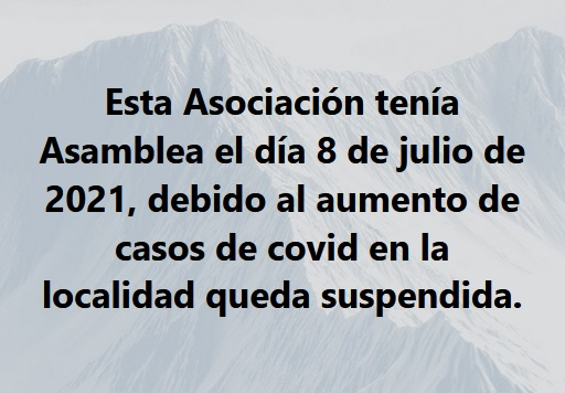 Queda suspendida Asamblea de Amas de Casa de Torrejoncillo