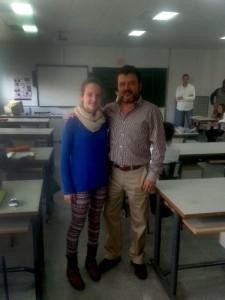 Andrea Testón recogió en Mérida la Mención Especial a los Premios Extraordinarios de Primaria