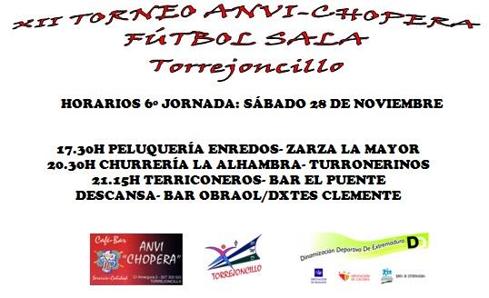 Quinta jornada del XII Torneo Anvi Chopera
