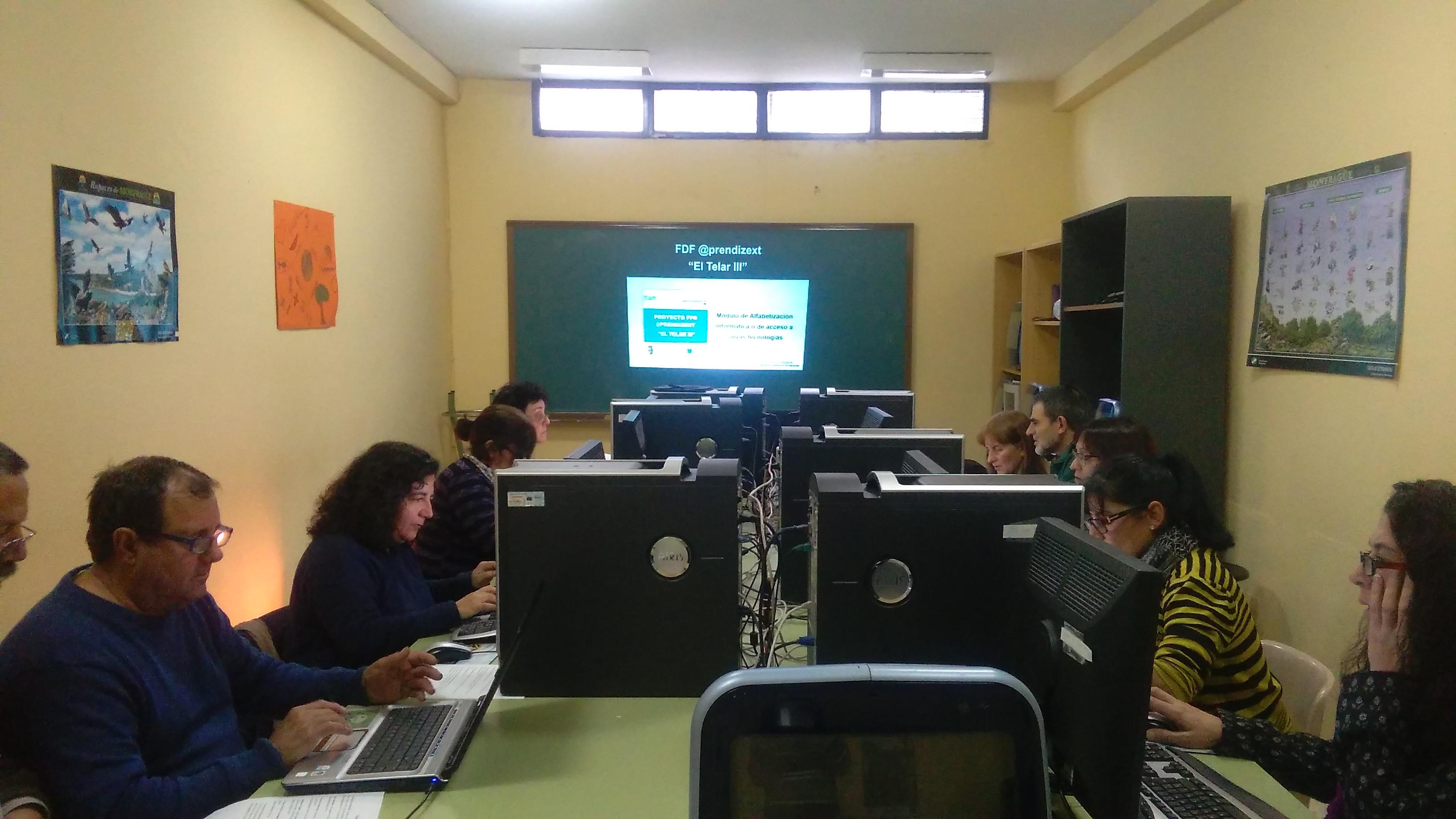 """Módulo de Alfabetización Informática FDF @prendizext """"El Telar III"""""""