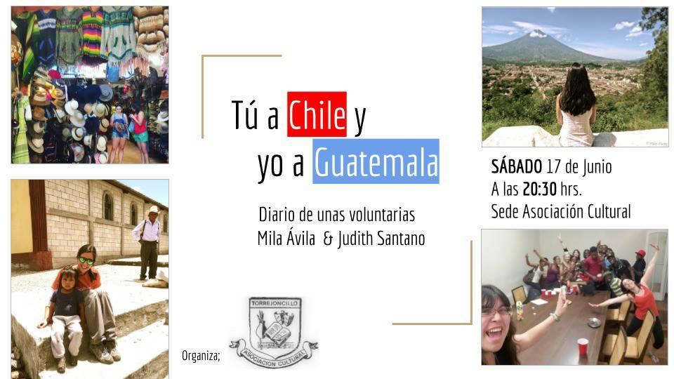 Tú a Chile y yo a Guatemala
