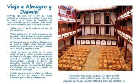 Viaje a Almagro y Daimiel