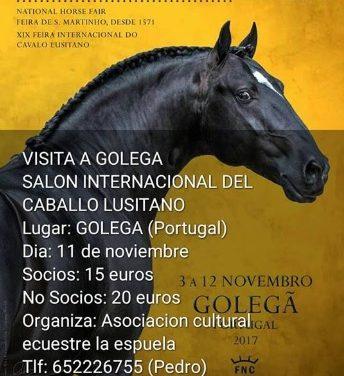 La Espuela visitará el Salón Internacional del caballo Lusitano